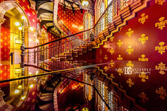 St. Pancras Renaissance Hotel, London, UK (davidgutierrez.co.uk) Tags: london architecture art city photography interior davidgutierrezphotography nikond810 nikon urban travel color londonphotographer photographer uk stpancrasrenaissancehotel renaissance hotel stpancras red stairs reflections design building colors colour colours colourful vibrant buildings england unitedkingdom 伦敦 londyn ロンドン 런던 лондон londres londra europe beautiful cityscape davidgutierrez capital structure britain greatbritain ultrawideangle afsnikkor1424mmf28ged 1424mm d810 arts landmark attraction architecturaldesign luxury vivid