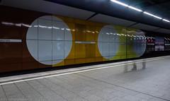 Three-legged Thing (katrin glaesmann) Tags: hamburg jungfernstieg metro station ubahnhof ubahn tube train moving longexposure people hamburgmitthorsten