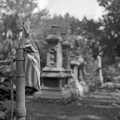 Millwood Cemetery (macromary) Tags: mamiyac220 mamiya florida 120 analog vintage 120film c220 mediumformat tlr ruralflorida marioncounty smalltown centralflorida sekor 80mm f28 reddick millwoodcemetery cemetery grave graves whitebronze zinc owens graveyard