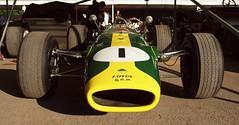 Lotus BRM 43, Goodwood Festival of Speed 2015 (Hammerhead27) Tags: green car race gold 1 lotus front 1966 intake brm goodwoodfestivalofspeed2015