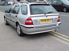 Isles of Scilly Plate (occama) Tags: uk car island cornwall plate number british rare isles registration scilly t178scy