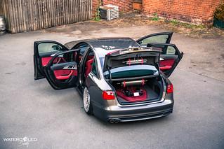 Bagged Audi A6