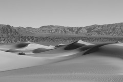 Death Valley 22 (gsamie) Tags: california blackandwhite usa mountains canon landscape desert deathvalley zabriskiepoint sanddunes t3i 600d gsamie guillaumesamie
