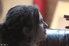 Cami - Zakula's castle (Al. Bo.) Tags: portrait people streetart castle art girl beautiful persona friend arte bokeh profile tunnel persone dread bella zak cami castello ritratto rasta expander amica bellezza ragazza sfocato profilo treccine dilatatore rastagirl zakula castellodizak zakulascastle