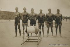 ByronBay Surf Life Saving Team, 1940 (RTRL) Tags: byronbay surfclub surflifesaving evanshead