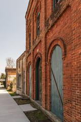 (jwcjr) Tags: door smalltown vacantbuilding southernarchitecture buckheadgeorgia buckheadga smalltownga