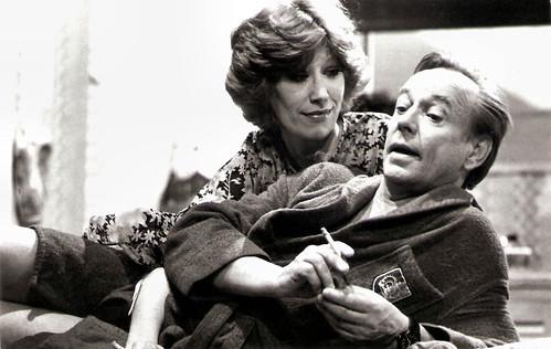 Rijk De Gooijer And Ronnie Bierman In Quitte Of Dubbel 1977