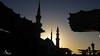 The Green Dome Sunrise (siraj_alquraish) Tags: islam mosque mohammed medina saudiarabia prophet النبوي محمد النبي annabawi المسجد mohammeds almasjid almadinahprovince