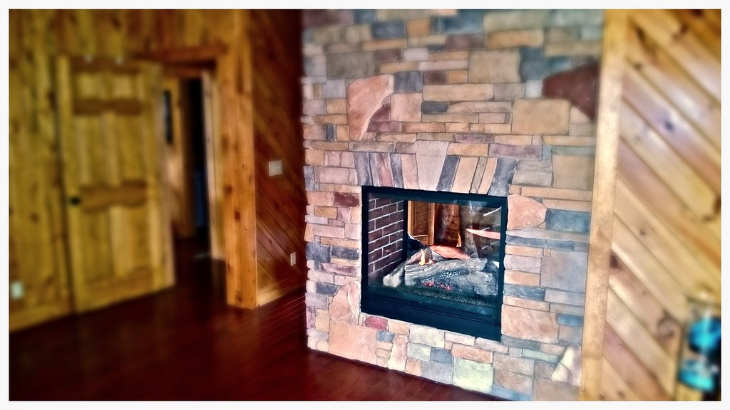 Napoleon See Thru Fireplace, Chattanooga, Tn