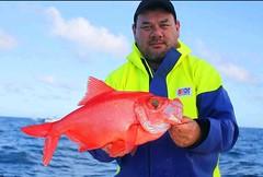 John Holt with his new Crew 211 jacket. #stormlinegear #fishing #sportfishing