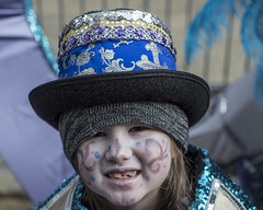 Mummers Parade, New Year's Day, 2017 (Alan Barr) Tags: philadelphia mummer mummersparade mummers 2017 street sp streetphotography streetphoto candid people parade color panasonic lumix gx8