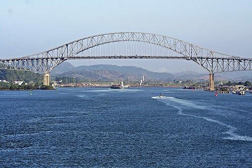 Bridge of the Americas OR Puente de las Américas OR Thatcher Ferry Bridge - Panama 03