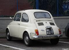 1971 Fiat 500 L (Alessio3373) Tags: fiat fiat500l targhenere blackplates oldcars classiccars
