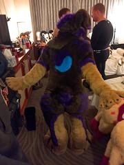 IMG_1476 (Kory / Leo Nardo) Tags: fur furry fursuit suiting dance party dj con convention further confusion fc san jose marriott center 2017 fc2017 pupleo leo kory