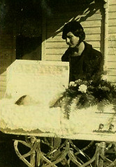 In Repose (~ Lone Wadi ~) Tags: funeral coffin casket death postmortem corpse unknown retro 1930s outdoors deceased
