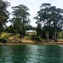 Commandant's House. Port Arthur.