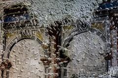 Mur floqué / Wall flocked - Palais des Papes / Palace of Popes - Avignon (christian_lemale) Tags: avignon palais palace papes popes palaisdespapes provence france nikon d7100