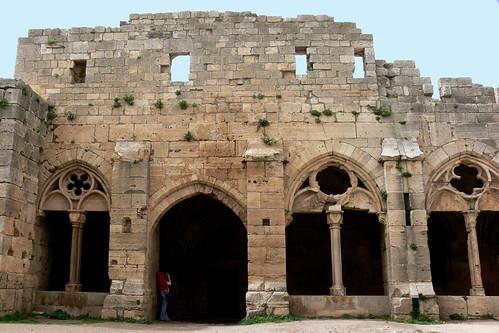 KRAK DE CHEVALIERS (Crac de los Caballeros). HOMS (Syria). 2008. Castillo. Capilla.
