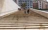 Guggenheim Museum Bilbao (SteveInLeighton's Photos) Tags: 2014 spain bilbao bilbo biscay basquecountry museum euskalherria bizkaia vizcaya guggenheim steps frankgehry espana april