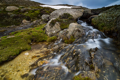 the highest stream is Australia (fotowomble) Tags: waterfall stream mountain kosciuszko australia 7 peaks polarizer 6 stop gradual nd filter canon fotowomble 1018mm