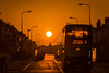 Dawn Bus (Starman_1969) Tags: belt bus central drive grasmere sunrise tower venus
