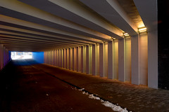 _DSC2679 (durr-architect) Tags: tunnel vision herman kuijer light installation dutch underpass zutphen netherlands architecture art designer artist colourful luminescent motorists cyclists pedestrians time space kcap baljon baauw royal haskoning dhv bam prorail train railway