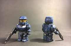 Halo Spartan (TheBrickBrewer) Tags: lego halo custom spartan bfal paint sculpt