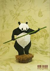 Ueno Panda (atilla yurtkul) Tags: peno panda quentin trollip atilla yurtkul origami