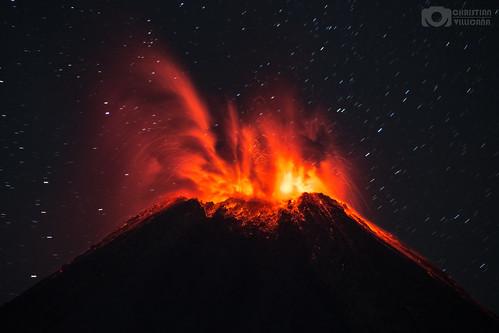 Volcanic Eruption - 8 January 2017