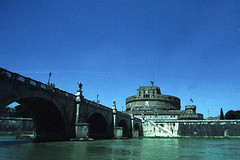Castel Sant'Angelo (>Ace<) Tags: agfactprecisa100 xpro cross process nikonf100