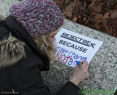 Rejection Reason (Greenpeace USA 2016) Tags: tillerson capitolhill exxonmobile exxon statedepartment secretary foreignrelations trump climate denier oil heaaring diplomat exxonknew rejectrexx washington districtofcolumbia unitedstates usa