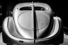 Nice Rear (Wade Brooks) Tags: 2016 ncmuseumofart ncma november 1935 bugatti type 57s aerolithe