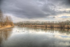 January mood (blavandmaster) Tags: winter deutschland himmel clouds paysage duitsland countryside landschaft ciel janvier nrw wolken badoeynhausen photomatix christiankortum flus canon 2017 januar landscape tyskland wasser happy colours processing allemagne germany river lovely interesting harmonic beautiful awesome light hiver complete ostwestfalen eos6d westfalen perfect nuages eau january sky