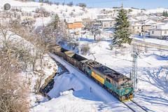 Sir Richard Arkwright in Klisura (BackOnTrack Studios) Tags: bzk bulgarian railway company class 87 026 sir richard arkwright 87026 klisura bulgaria snow copper freight cargo train tunnel railways