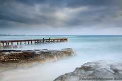 West Bay Dock (WhitcombeRD) Tags: wind westbay grand nature long rough weather waves dock caribbean exposure smooth gloomy caymanislands cayman ocean winter sea storm