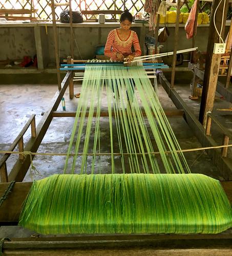 Khmer Weaver