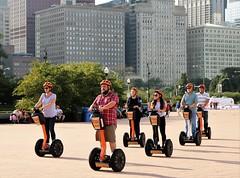 City Segway Tour, Chicago (BreezyWinter) Tags: chicago citysegwaytour segway tour grantpark people city