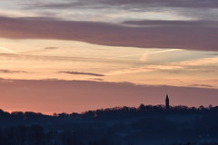 Morning over Abberley Clock tower (martinbennett460) Tags: sunrise abberley nikon d5500 sigma70200 goldenhour clocktower worcestershire eardiston