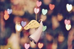 Happy Bokeh Wednesday (ladybugdiscovery) Tags: hbk happybokehwednesday hearts angel