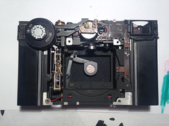 Leica CL disassembly (Alexander Rutz) Tags: camera leica film analog rangefinder repair cl disassembly leicacl