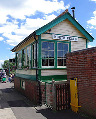 RD11175.  North Weald Signal Box.