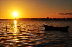 """ ento que surges... com teus sonhos arrumados."" (Mia Couto) (Ruby Ferreira ) Tags: sunset forest boat lagoon ripples notreatment miacouto araruamarj costadosolrj lagoadeararruamarj"