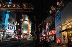 Minami Gofuku-cho-Dori, Sakae 3-chome, Nagoya (kinpi3) Tags: street japan night nagoya  gr sakae ricoh sumiyoshi