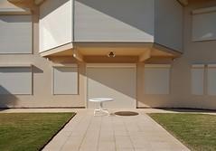 Plain Bland (mikecogh) Tags: beige path lawn esplanade shutters bland plain tennyson clossed