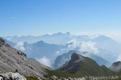 Panorama da Forcella de Zità Sud