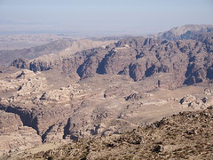 Rock formations near Petra and Wadi Rum!