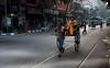 Kolkata - Rikshaw (sharko333) Tags: travel voyage reise street india indien westbengalen kalkutta kolkata কলকাতা asia asie asien transport rikshaw city man woman olympus em1