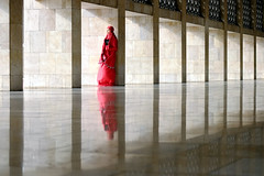 Devotion (ali trisno pranoto) Tags: istiqlal istiqlalmosque mosque red islam