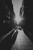rúa oliva, Pontevedra (amargureiro) Tags: d80 street streetphotography city cityscape urban urbana urbá galicia pontevedra blackandwhite bw blancoynegro contrast backlighting 1870mmf3545 nikon