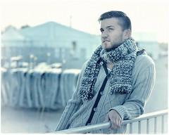 On a winter day (chromik) Tags: portrait portraits portraitfotografie portraitart portraitphotos portraitphotoart face visage gesichter gesicht man mann men color winter chromik dietmarchromik photoart